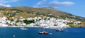 Hotels & Apartments in Andros Island Greece